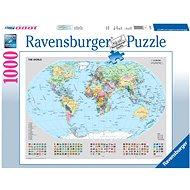 Ravensburger 156528 Politische Weltkarte 1000 Teile - Puzzle