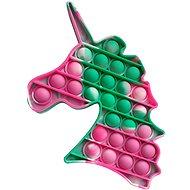 Pop it - Einhorn grün marmoriert - Pop it