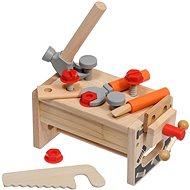Lucy & Leo 182 Großer Tischler - Holzwerkzeugset mit Poncho - Kinderwerkzeug