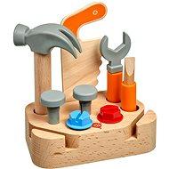 Lucy & Leo 241 Kleiner Schreiner - Werkzeugset aus Holz - Kinderwerkzeug