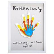 Pearhead Fingerprint Rahmen Familie weiß - Rahmen