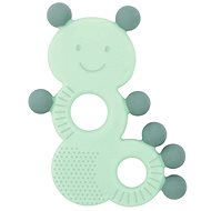 Nattou Silicone Teether with BPA-free Caterpillar Protrusions - Baby Teether