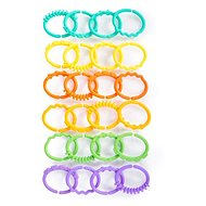 Bright Starts Teether - C-rings, 24 pcs, 0 m+ - Baby Teether