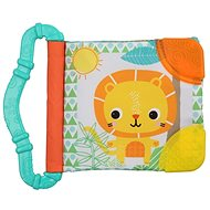 Bright Starts Teether / Book, 3m+ Lion - Baby Teether