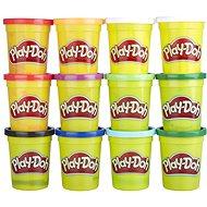 Play-Doh Packung mit 12 Tassen Winterfarben - Knetmasse