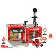 Feuerwache mit Fahrzeug - Garage