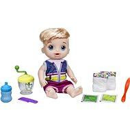 Baby Alive Blonder Junge mit Mixer - Puppe