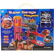 Spielset - Parkhaus mit Autos - Garage