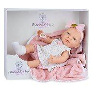 Marina & Pau 1612-K Puppe mit Decke - New Born Mädchen - Puppe