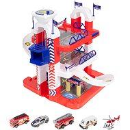 Teamsterz Rettungsstation mit 5 Autos - Garage