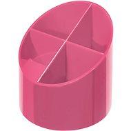 HERLITZ rund, 4 Fächer, pink - Stiftständer