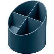 HERLITZ rund, 4 Fächer, dunkelblau - Stiftständer
