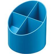 HERLITZ rund, 4 Fächer, blau - Stiftständer