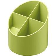 HERLITZ rund, 4 Fächer, grün - Stiftständer