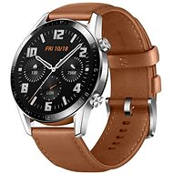 Huawei Watch GT 2 46 mm Brown Leather Strap - Smartwatch
