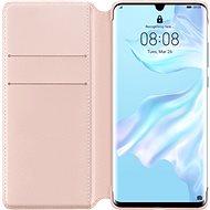 Huawei Original Wallet Hülle Pink für P30 Pro - Handyhülle