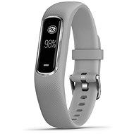 Garmin vivoSmart4 Grau/Silber (Größe S/M) - Fitness-Armband