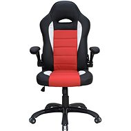 Gaming-Sessel HAWAJ Montreal racing design - schwarz/rot/weiß