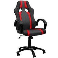HAWAJ rot / schwarz mit Streifen - Bürosessel