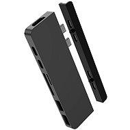 HyperDrive DUO 7in2 USB-C Hub für MacBook Pro/Air - grau - Port-Replikator