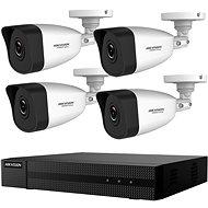 HikVision HiWatch HWK-N4142BH-MH, KIT, 2 MP, Rekorder + 4 Kameras, 4-Kanal, 1 TB HDD - Kamerasystem