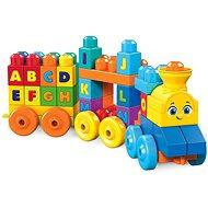 Mega Bloks Musikalische Spielzeugeisenbahn mit Buchstaben - Bausatz