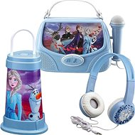 Kopfhörer Frozen II Set - Kopfhörer, Taschenlampe, Karaoke-Box