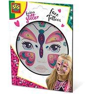 SES Fashion Glitter Face Tattoos - Schmetterling - Kreativset