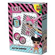 SES L.O.L. - Glitter Surprise - Ausmalbilder mit Glitzer - Malen für Kinder
