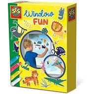 SES Window Fun Fensterbilder - Dschungel - Kreativset
