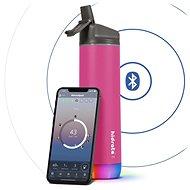 HidrateSpark Steel - Smart Flasche mit Strohhalm - 620 ml - pink - Trinkflasche
