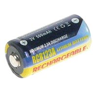 AVACOM für CR123, CR23, DL123A nab. Lithium 3V 500mAh - Ersatzbatterie