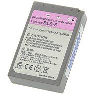 AVACOM für Olympus BLS-5 Li-ion 7,2V 1150mAh 8.3Wh - Ersatzbatterie