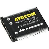 AVACOM für Olympus Li-40B, Li-42B Li-ion 3,7V 740mAh 2.7Wh AVA - Laptop-Akku