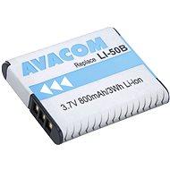 AVACOM für Olympus LI-50B Lithium-Ionen 3,7 V 800mAh - Ersatzbaterie
