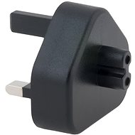 AVACOM-Adapter Typ G (UK) für USB Typ C-Ladegeräte - schwarz