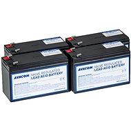 AVACOM Ersatzbatterie für die Erneuerung der RBC24 (4 St Batterien) - Batterie