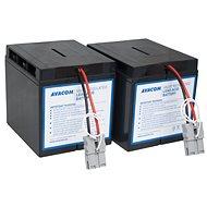 AVACOM Ersatzbatterie für RBC55 - USV-Akku - Ladebatterie