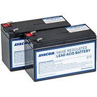 AVACOM Batterieset für den erneuerten RBC124 (2 Stück Batterien) - Akku
