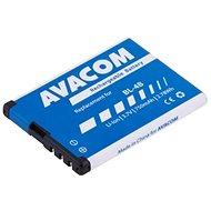 AVACOM für Nokia 6111 Li-Ion 3,7V 750mAh (Ersatz BL-4B) - Handy-Akku