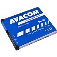 AVACOM für Nokia N95, E65, Li-Ion 3,6V 1000mAh (Ersatz BL-5F) - Handy-Akku