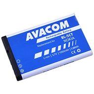 Avacom für Nokia 6303, 6730, C5, Li-Ion 3,7 V, 1050 mAh (Ersatz BL-5CT) - Handy-Akku