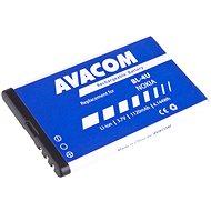 AVACOM für Nokia 5530, CK300, E66, 5530, E75, 5730, Li-ion 3,7V 1120mAh (BL-4U-Ersatz) - Ersatzbatterie