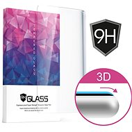 Icheckey 3D Curved Tempered Glass Screen Protector Black für iPhone 8 - Schutzglas