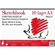ICO A3/10 Blätter 180 g/m2 - Skizzenblock