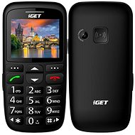 iGET Simple D7 Schwarz - Handy