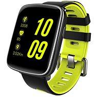 IMMAX SW9 schwarz und grün - Smartwatch