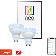 Immax Neo LED GU10/230V 4,8W TB 350lm Dim 2Stk. - LED-Birne