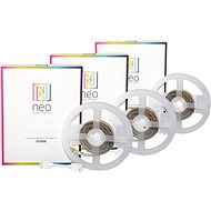 Immax Neo 3x LED-Streifen 1m, farbig, dimmbar, ZigBee 3.0 - LED-Band