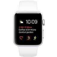 Apple Watch Series 1 38 mm Aluminiumgehäuse Silber mit weißem Sportarmband - Smartwatch